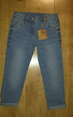 NEXT Girls blue Jeans size 6 years. Adjustable waist. New  Kids Clothes Girl's