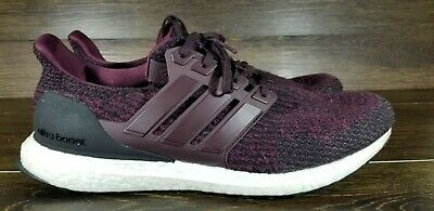 de5718896a148 MENS ADIDAS ULTRA Boost 3.0 Dark Burgundy Maroon Red Black PK S80732 size  11.5