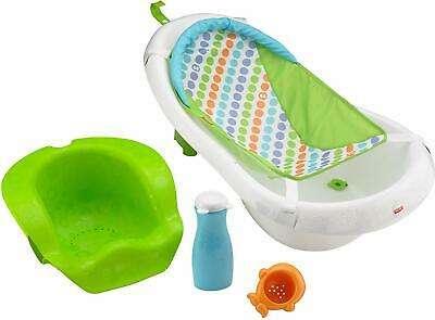 Fisher Price 4 in 1 Sling 'n Seat Tub Baby Bath Blue