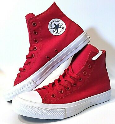 CONVERSE CHUCK TAYLOR High Top [150145C] Salsa Red White