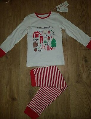 Mothercare Christmas Girls Pyjama set 4-5 years NEW kids 2 piece set
