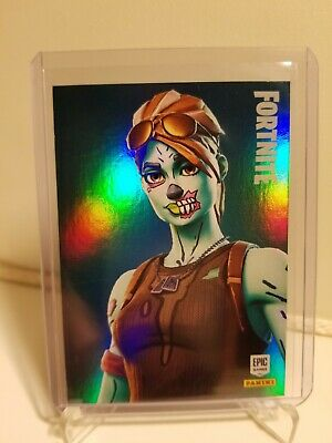 2019 Panini Fortnite Series 1 GHOUL TROOPER Epic Holo Foil Card #214