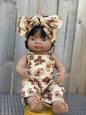 Miniland Doll Clothes Overall