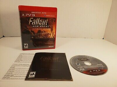 Fallout New Vegas Ultimate Edition PS3 Playstation 3 excellent complete
