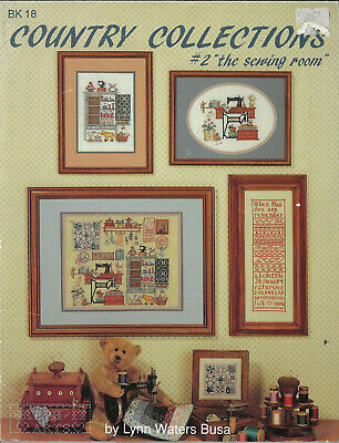 SEWING ROOM Country Collections GraphIt Arts cross stitch chart Lynn Waters Busa