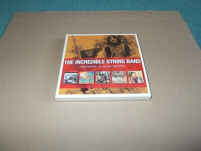 the incredible string band original album series 5xcd set