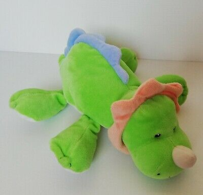 Mothercare ELC green My First Dinosaur baby Comforter Soft plush Hug Toy