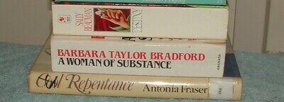 3 Books.. A Woman of Substance By Barbara Taylor Bradford, and more.