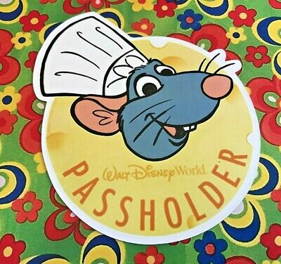 Disney World Passholder REMY MAGNET Food Wine Festival Ratatouille Safe Replica
