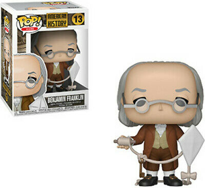History - Benjamin Franklin - Funko Pop! Icons: (2019, Toy NEUF)