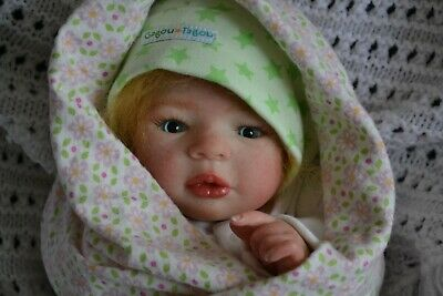Cute Reborn Baby GIRL Doll CHARLOTTE was Morgan by Aleina Petersen COMPLETED