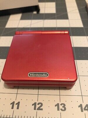 GameBoy Advance SP Handheld System Used W/ Games