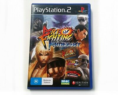 Art of Fighting Anthology - PS2 - Complete VGC - AUS PAL SNK