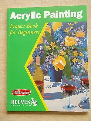 Reeves~Acrylic~Project Book For Beginners~5 Lessons~32pp P/B