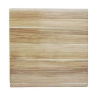 New Table Top Restaurant Cafe Antiscratch Isotop Dining 60cm Square Blackbutt