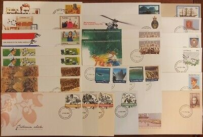 AU - Prepaid 27x FIRST DAY of ISSUE Stamped Envelopes - 22c, 30c & 33c Stamps