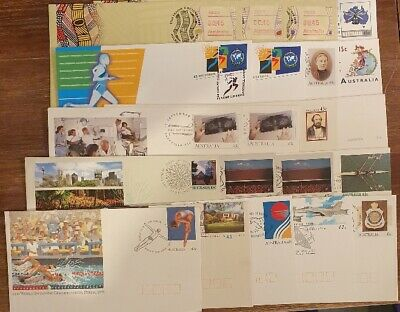 AUSTRALIA - Prepaid 21x FIRST DAY of ISSUE Stamped Envelopes - 43c & 45c Stamps