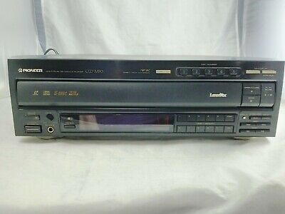 Pioneer CLD-M90 LaserDisc LD Combo 5 CD Player Tested and Working Nice Shape