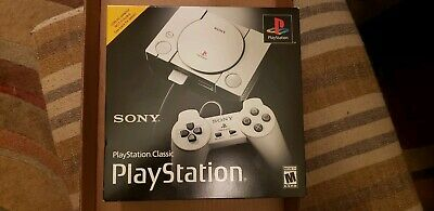 """Sony PlayStation Classic Console with 20 Classic Games Preloaded - """"NEW"""""""
