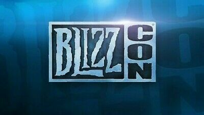 BlizzCon 2019 Pass Ticket INCLUDES Footman Statue & Digital Goodies
