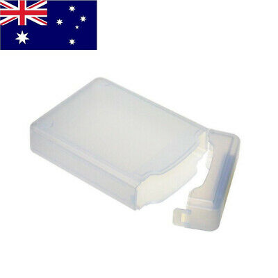New 3.5-inch IDE/SATA Hard Drive Semitransparent PP Protection Storage Box White