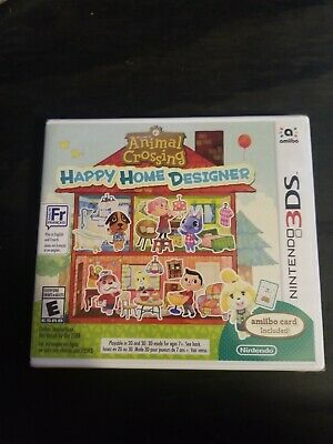Animal Crossing: Happy Home Designer (Nintendo 3DS) - New Sealed