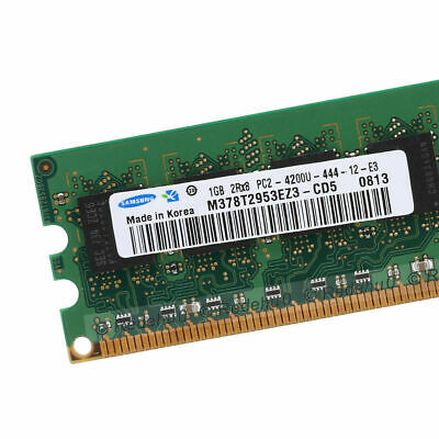 For Samsung DDR2 1GB 240Pin Desktop 533Mhz PC2-4200 RAM Non-ECC Dimm Memory SL1
