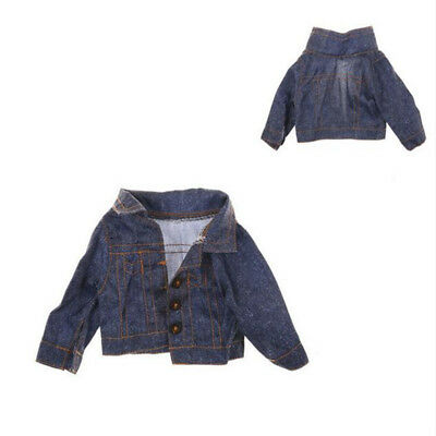 Doll Clothes Jeans Wear Winter Coat For 18 inch Girl Doll Clothes 43cm Baby Doll