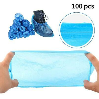 100 x Strong Disposable Shoe Covers Overshoes Carpet Floor Boot Protector Cover