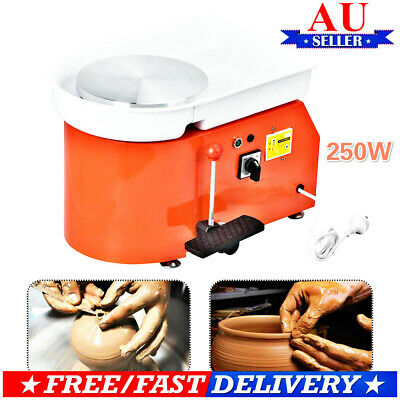250W 220V Pottery Wheel Pottery Machine Universal Electric Forming Machine AUE