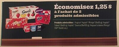 Lot of 20 x 1.25$ IGA and IGA Extra ONLY in Quebec Products Coupons Canada