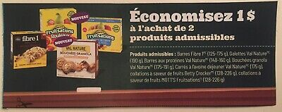 Lot of 20 x 1.00$ IGA and IGA Extra ONLY in Quebec Products Coupons Canada