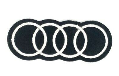 AUDI Car Iron On Patch Sew On Embroidered Patch T shirt Jacket Patch 1718