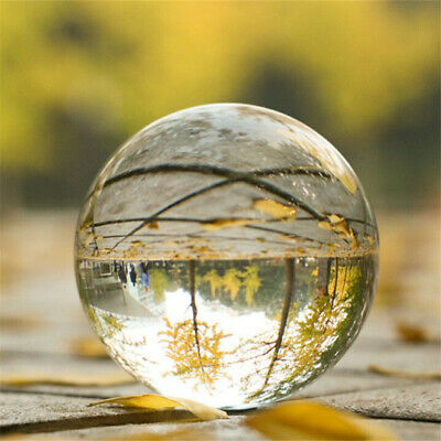 3D Crystal Ball Photography Photo Prop Background Lens Glass Ball Home Decor