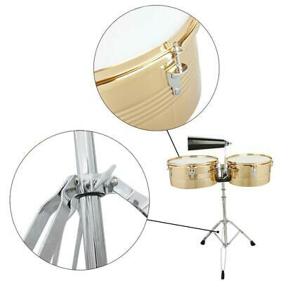 LP LATIN PERCUSSION TIMBALE DRUMS /& STAND SOFT GIG BAG ROAD CASE SET LP539-BK
