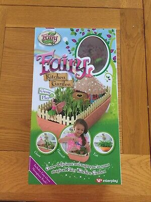 My Fairy Kitchen Garden - Grow Your Own Miniature Edible Garden Kit - Kids Toy