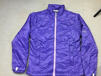 Kathmandu - Girls Winter Jacket - Purple - Size 10yrs - Good Condition -