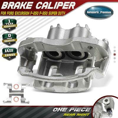 2 New Rear Brake Calipers fit 00-05 Ford Excursion 00-04 F250 F350 w// Bracket