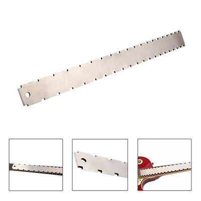 Double Scale Guitar Neck Notched Straight Edge Fret Rocker Luthier Tools New