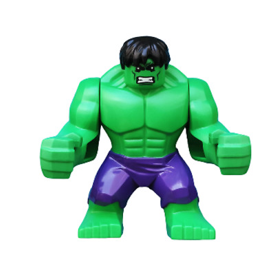 Lego Hulk 76018 Big Figure Dark Purple Pants Super Heroes Minifigure
