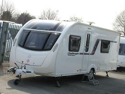2014 Swift Challenger 564 SPORT 4 Berth FIXED SINGLE BEDS - DRY STORED