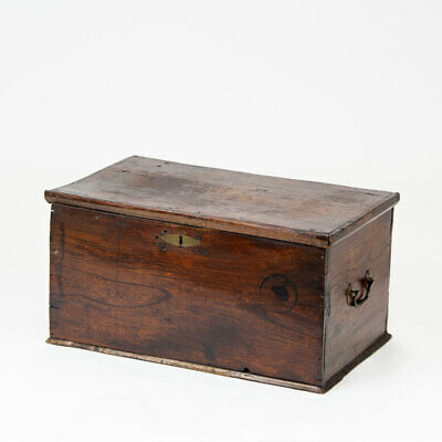 Antique Wooden Storage Chest / Coffee Table