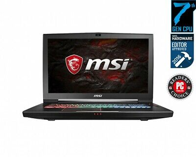 PC Portable GAMER MSI GT73 TITAN PRO / GTX 1080 / 16 GO  / i7 77000 HQ / 120 HZ