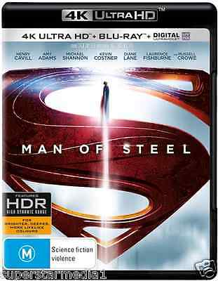 Man Of Steel : NEW (4K Ultra HD - UHD) Blu-Ray