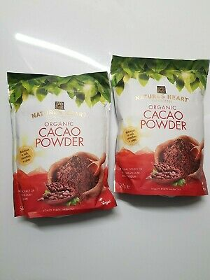Nature's Heart Organic Cacao Powder (2pk)