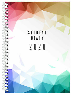 2020 Collins Colplan Student Diary A5 Week to View Spiral SC37SP.L33-20
