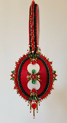 "The Glimmer Tree Beaded Ornament Kit 3"" Ball 'Night Before Christmas'"