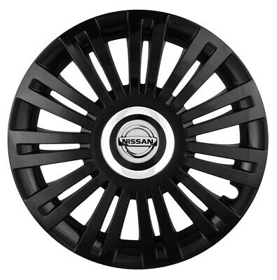 """16"""" Whell trims wheel covers fit Nissan Almera  4 x16'' inches black"""