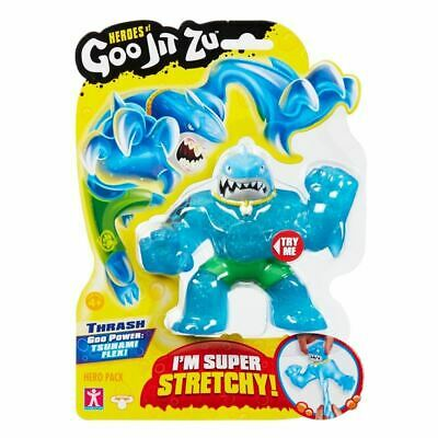 Heroes of Goo Jit Zu - Thrash ~ Action Figure Super Stretchy