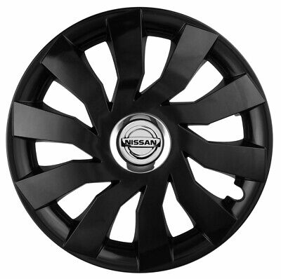"""16"""" Whell trims wheel covers fit Nissan Primera  4 x16'' inches black"""